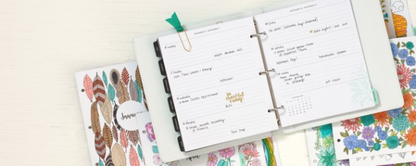 Tips: Keeping Track of Memories as they Happen w/ Planners, Journals and Scrapbooking