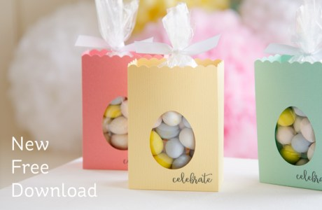 Freebie: Easter Treat Box SVG File