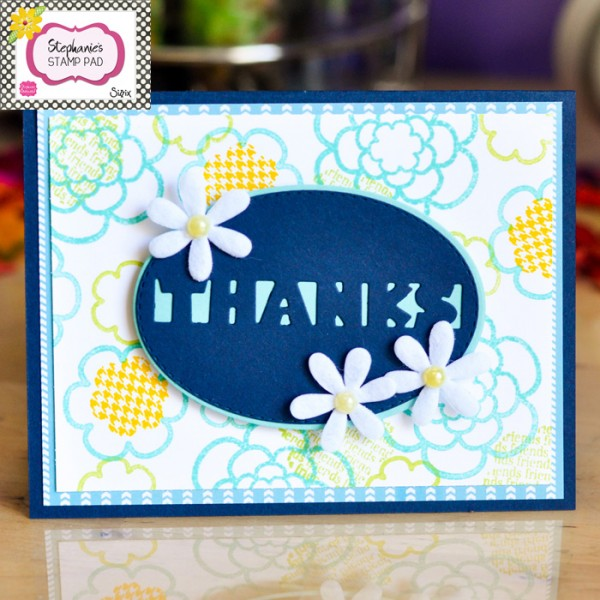 Project: Floral Thank You Card
