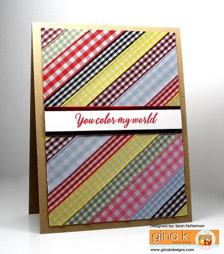Project Ribbon Card
