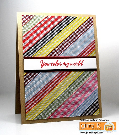 Project: Ribbon Card