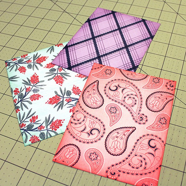 Tips: Stamped Card Backgrounds