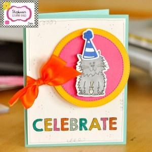 Project: Kitty Cat Birthday Card