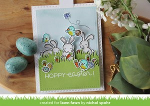 Project: Easter Bunny Pull Tab Slider Card