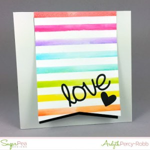 Tip: Multi Uses for Striped Background Stamp