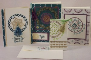 Product Review: Stampin' Up Eastern Palace Suite Collection
