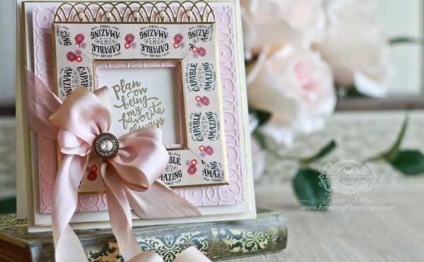 Project: Washi Frame Card