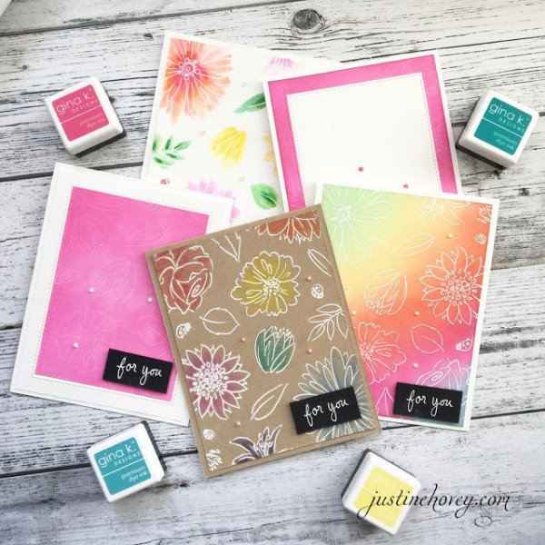 Techniques 5 Different Cards with One Stamp Set