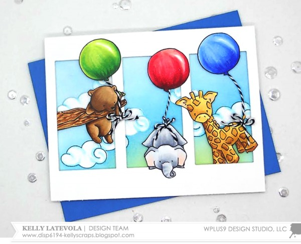 Project: Multi Layer Baby Animals Card