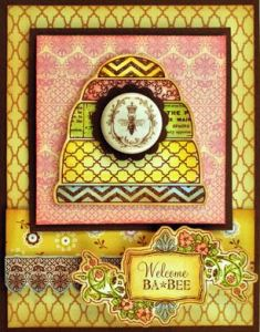 Projects: Four Bee Cards