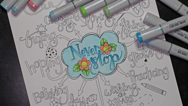 Download: Inspirational Coloring Page