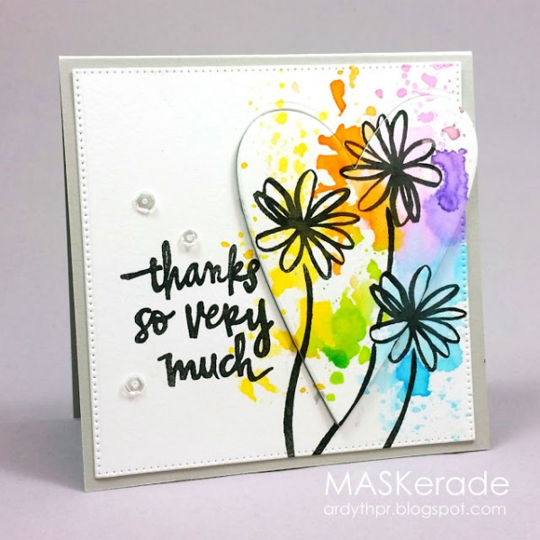Technique: Ink Smooshing Card