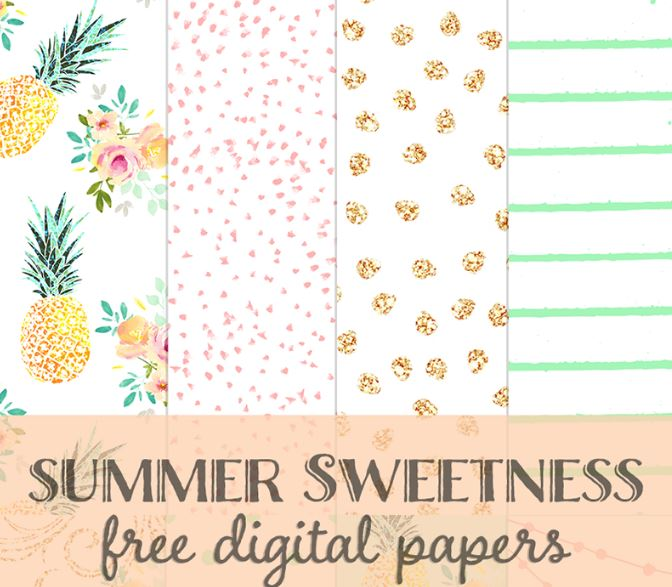 Download: Summer Pattern Papers