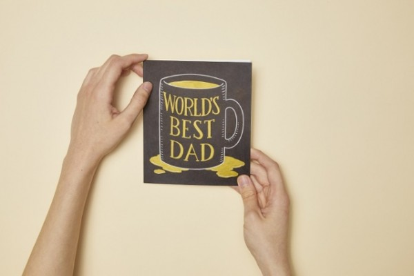 Pattern and Project: Father's Day Mug Card