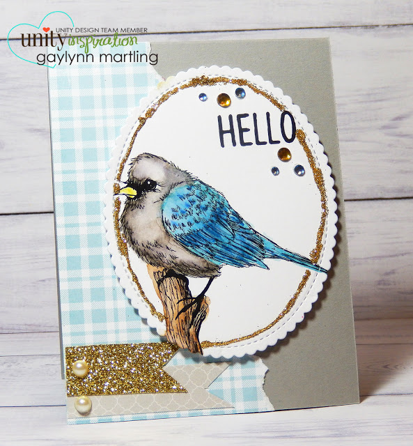 Project: Blue Bird Card