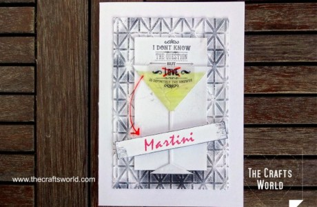 Project: Funny Martini Card