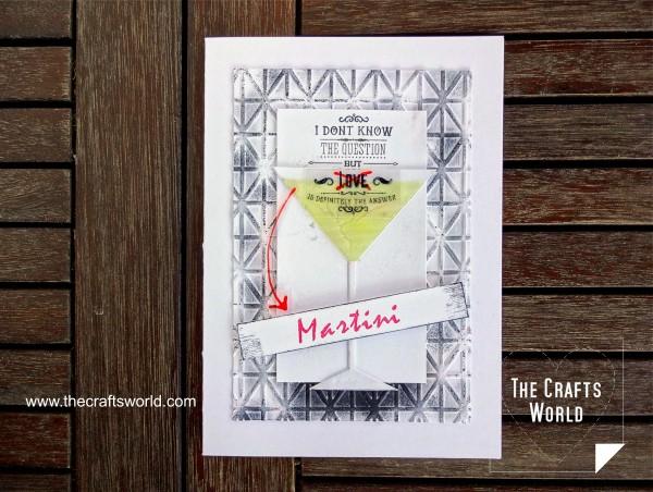 Project: Funny Martini Card