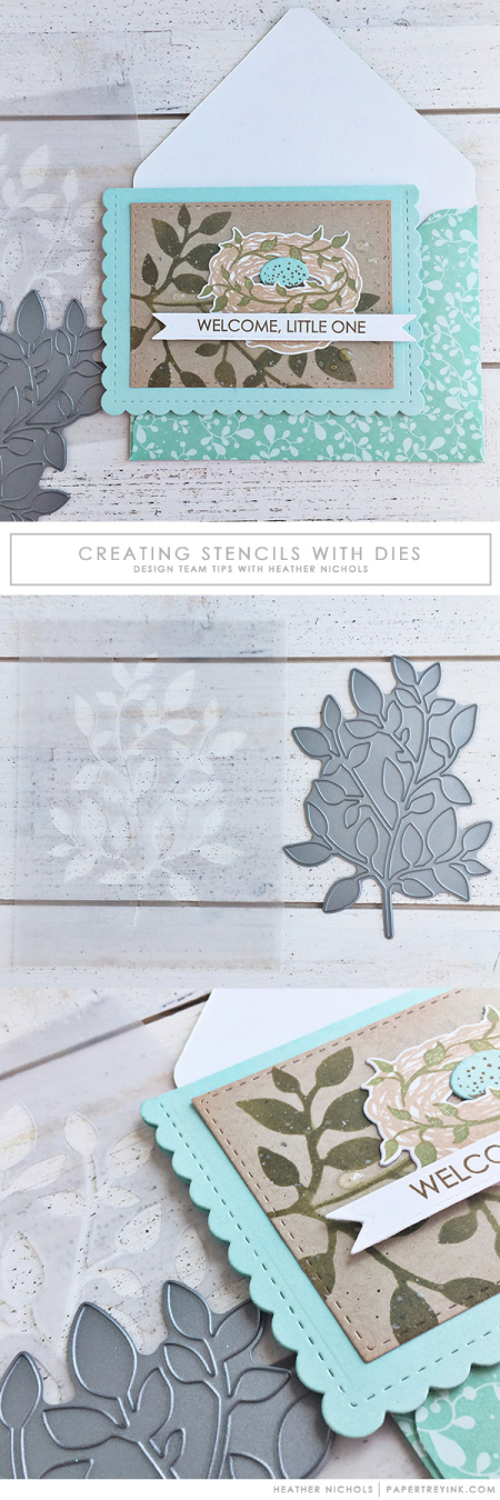 Tip: Make DIY Stencils with Dies