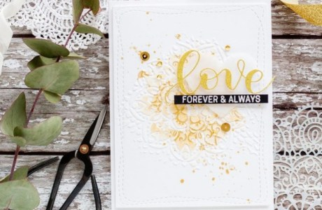 Project: Elegant Wedding Card