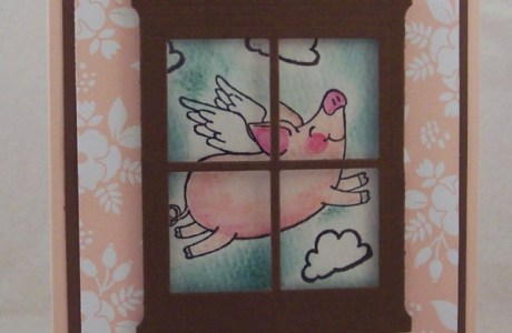 Project: When Pigs Fly Card