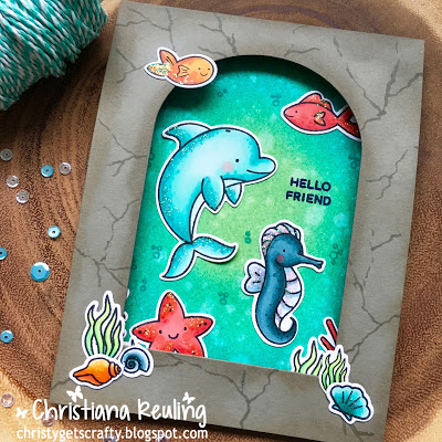 Project: Under Water Cove Card
