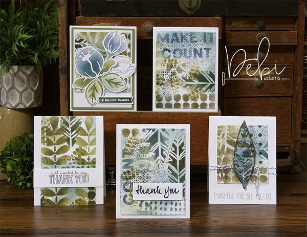 Tip: Make Your Own Pattern Paper with Stencils