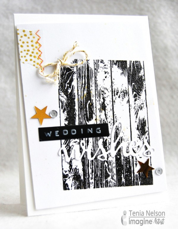 Project: Rustic Wedding Card