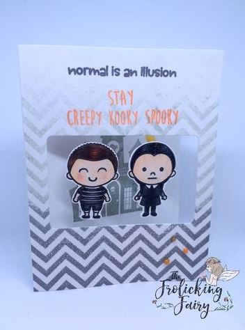 Inspiration: Addams Family Cards