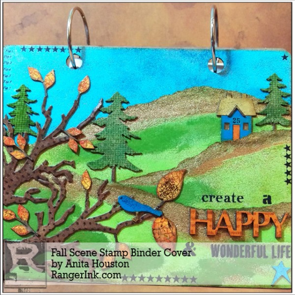 Project: Fall Scene Binder Cover