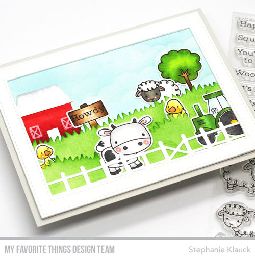 Tip: Add a Frame to Your Stamped Scene Cards