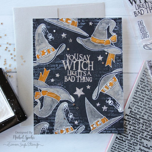 Project: Witches Hat Halloween Card with Metallic Touches