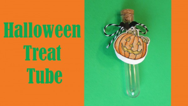 Project: Halloween Treat Tube