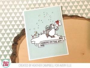 Project: Skating Penguin Card