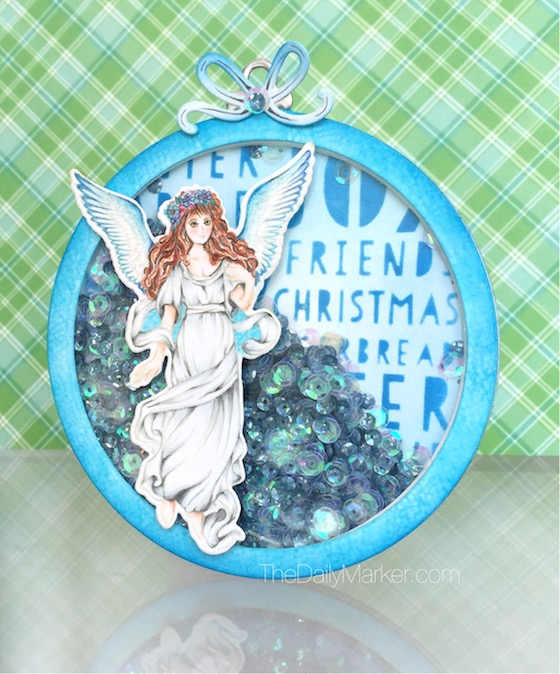 Project: Angel Shaker Ornament