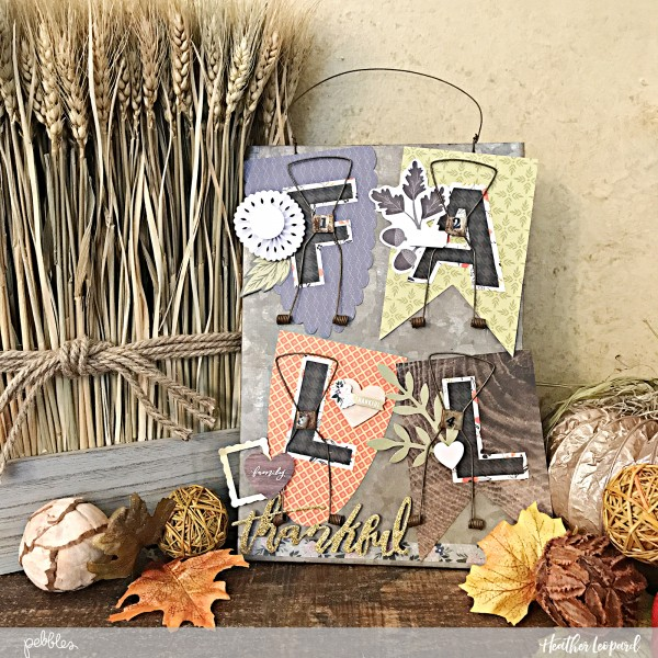 Inspiration: Fall Banner Wall Hanging