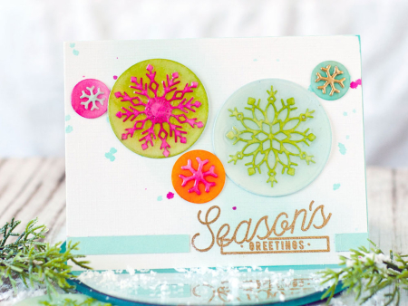 Technique: Faux Epoxy Card Embellishments
