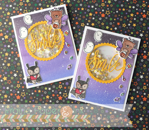 Project: Flat Halloween Shaker Card with Fuse Tool
