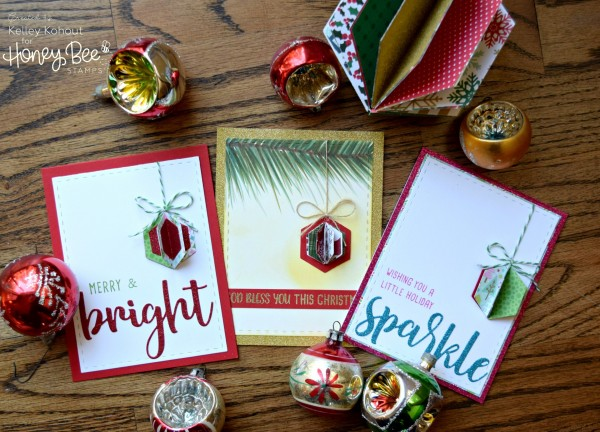 Tip: 3D Ornament Cards with Hexagon Dies