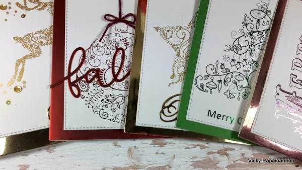 Project: Foiled Christmas Cards