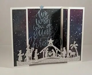 Tutorial: Double Gate Fold Nativity Card