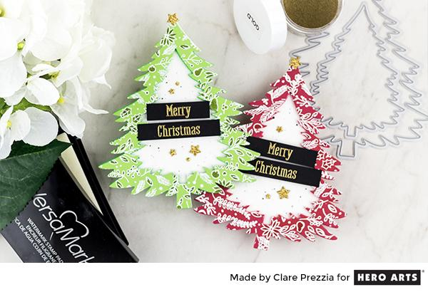 Project: Christmas Tree Shaped Cards