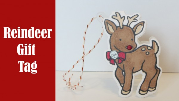 Project: Reindeer Gift Tag