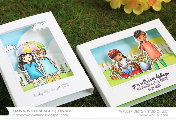 Project: Diorama Cards