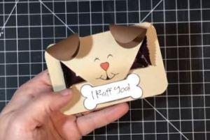 Project: Dog Valentine Treat Holder