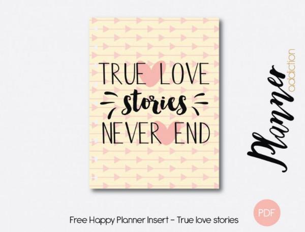 Download: Valentine Planner Insert