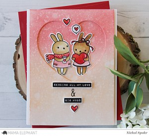 Project: Valentine Card with Blending Techniques