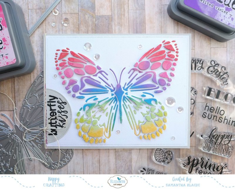 Project: Die Cut Butterfly Card