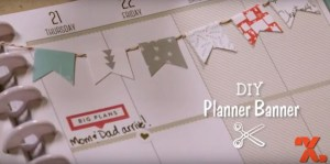 Project: Quick and Easy Planner Banner