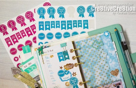 Download: Glitter Planner Stickers for Silhouette Users
