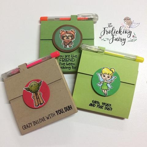 Project: Sticky Note Holders